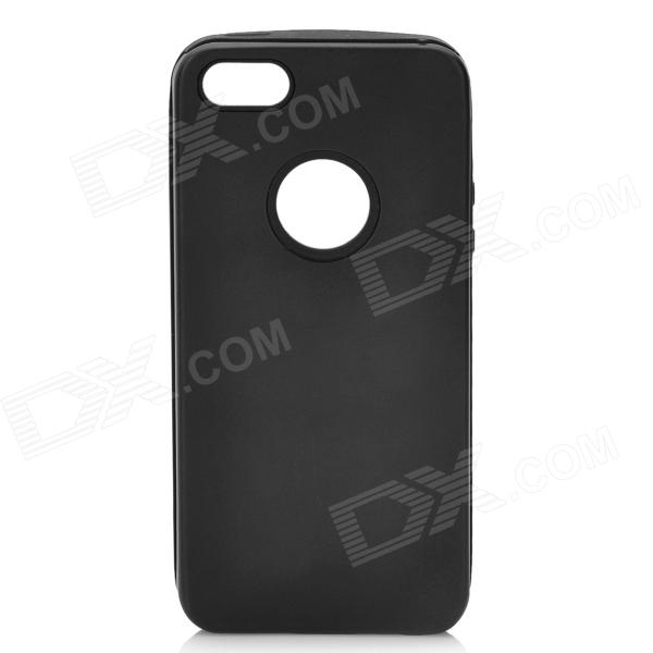 Protective Aluminum Alloy Back Case for Iphone 5 - Black
