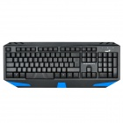 Genius K3 104-Key USB Blue Backlight Wired Gaming Keyboard