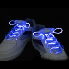 Party Ultra Bright Blue Light 3-mode LED Luminescent Bootlaces Shoelaces (1 x CR2025 / Pair)