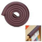 Buy Baby Safety Anti-Collision Strip Table Desk Corner Cushion Cover Protector Guard - Brown