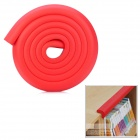 Baby Safety Anti-Collision Strip Table Desk Corner Cushion Cover Protector Guard - Red