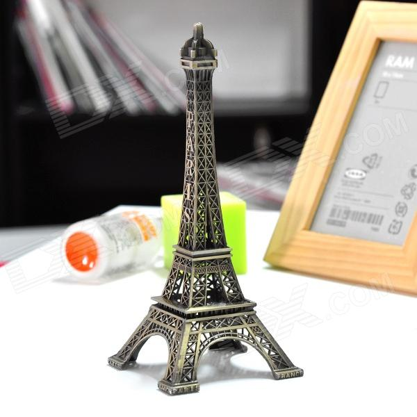 Paris Eiffel Tower Display Model Home Office Desk Decoration Copper