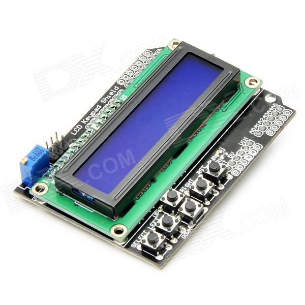 Quot lcd keypad shield for arduino works with official