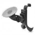 Adjustable Car Swivel Mount Holder for Iphone / Samsung - Black