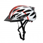 Anqi 039 Cool Sports Fahrradhelm - Red + White