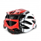 AnQi 039 Cool Sports Cycling Helmet - Red + White