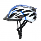 AnQi 039 Cool Sports Cycling Helmet - Blue + White