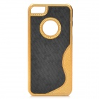 Protective PC Plastic Case for Iphone 5 - Golden + Black