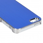 Protective Aluminum Alloy Case for Iphone 5 - Blue