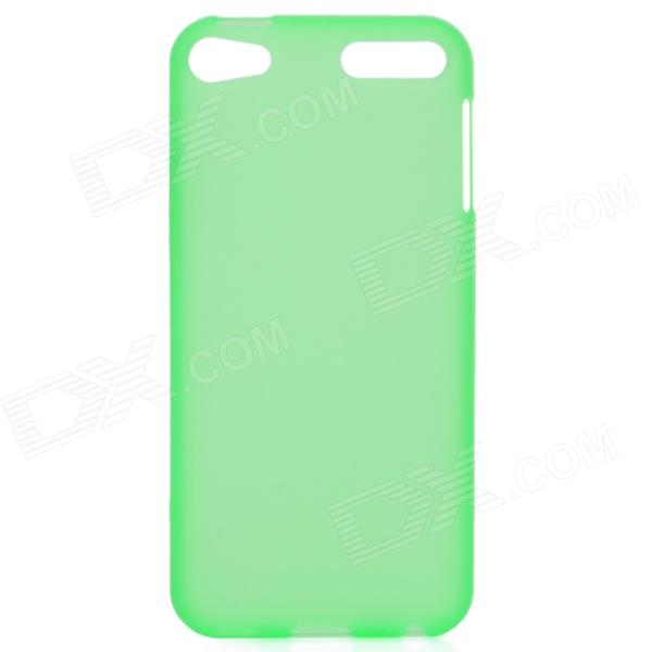Protective TPU Case for Ipod Touch 5 - Translucent Green