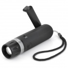 Forest Tiger SLH-H802 AC / Hand-Crank 100lm 3-Mode Zooming Dynamo Flashlight - Black