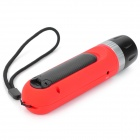 Forest Tiger SLH-H802 AC / Hand-Crank 100lm 3-Mode Zooming Dynamo Flashlight - Red