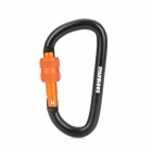 Acecamp Munkees Outdoor Sports Locking Carabiner Hook - Black