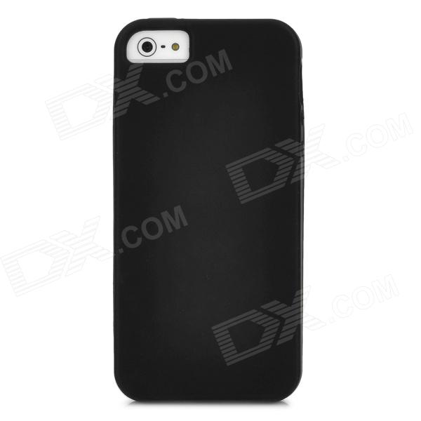 Protective Silicone Case for Iphone 5 - Black protective silicone case for nds black