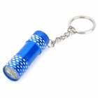 ZK-3 Mini Aluminum Alloy 3-LED 30lm 1-Mode White Light Flashlight (3 x AG13 / Random Color)