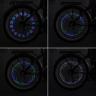 Bicycle Decoration Hot Wheel Colorful 7-LED Light (2 x CR2032)