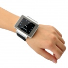 "i3 GSM Watch Phone w / 1,8 ""resistiva Screen, Quad-Band, FM e Single-SIM - Prata + Preto"