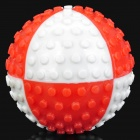 Fun Pet Dog Ball Toy - Red + White