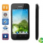 "Huawei U8825D Android 4.0 Bar Phone w/ 4.0"" Capacitive Screen, Wi-Fi, GPS and Dual-SIM - Black"