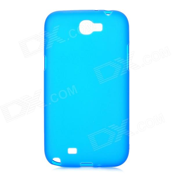 Protective TPU Back Case for Samsung Galaxy Note II N7100 - Deep Blue защитная пленка для мобильных телефонов 4 2 x 2 x nokia lumia 920