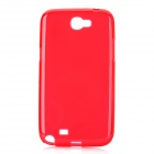 Protective TPU Back Case for Samsung Galaxy Note II N7100 - Red