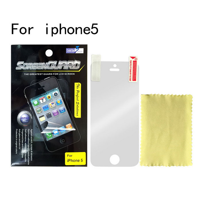 Protective Glossy Screen Protector for Iphone 5 - Transparent