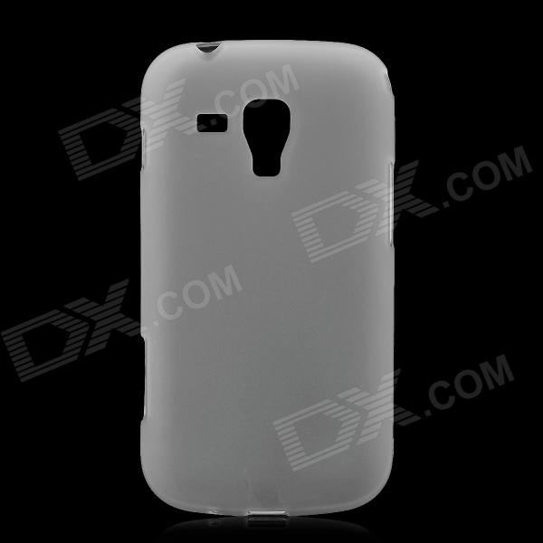 Protective TPU Back Case for Samsung Galaxy S Duos S7562 - Translucent White