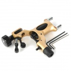 Cast Iron / Alloy Dragonfly Tattoo Machine Gun - Yellow