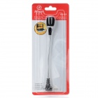 Feinier FE1-23 Flexible Microphone for Laptop Notebook - Black + Silver (3.5mm Plug)