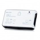 All-in-One USB 2.0 Memory Card Reader - White
