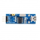 PL2303 Mini USB to TTL UART Communication Module Board - Blue