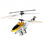 Lanxiang 701 Mini Rechargeable 3-Channel IR Remote Control Helicopter - Golden + Black + Silver