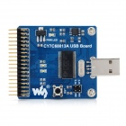 CY7C68013A Type-A USB Communication Module Board - Blue