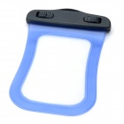 Waterproof Bag Case w/ Strap for Iphone / Ipod Touch - Blue