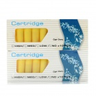 Electronic Cigarette Cartridge Refills - Cigar Cherry Flavor (Yellow / 20 PCS)