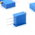 3296 Potentiometer 3-Pin 10kohm Adjustable Resistors - Blue (10PCS)