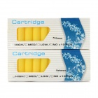 Electronic Cigarette Cartridge Refills - Parliament Flavor (Yellow / 20 PCS)