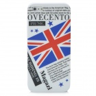 UK National Flag Pattern Protective Plastic Case for Iphone 5 - White + Blue + Red