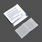Outdoor Emergency First Aid Alcohol Pads for Camping - White (100 PCS)