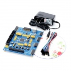 OpenM128 Standard AVR Microcontroller Development Board - Blue