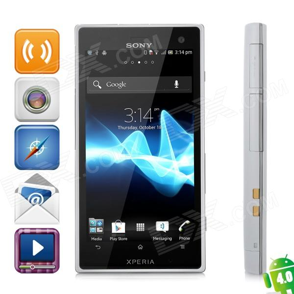 Sony Ericsson Xperia Acro S LT26W WCDMA Barphone w/ 4.3″ Capacitive Screen, Wi-Fi and GPS – White