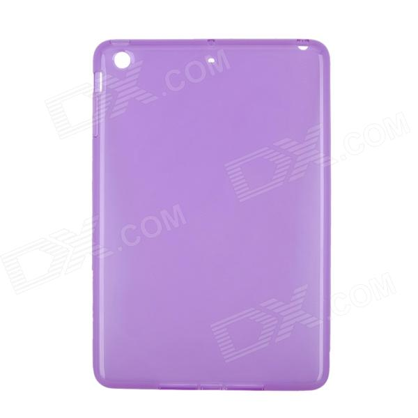 New Protective TPU Back Case Cover for Ipad MINI - Transparent Purple tpu protective cover for apple watch 38mm transparent
