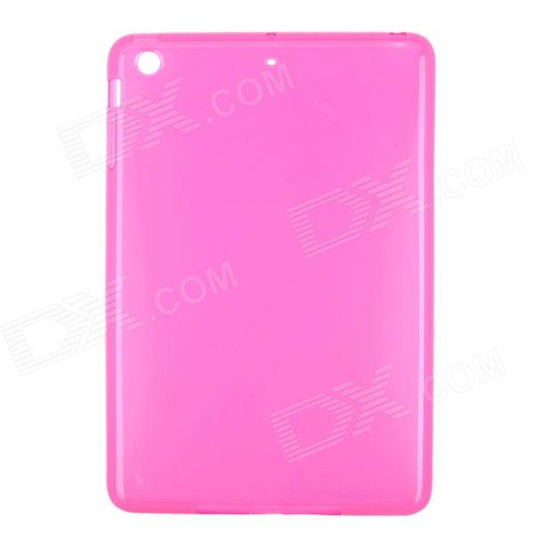 New Protective TPU Back Case Cover for Ipad MINI - Deep Pink nice soft silicone back magnetic smart pu leather case for apple 2017 ipad air 1 cover new slim thin flip tpu protective case