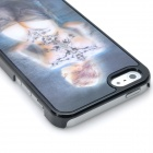 3D Naked Girl Pattern Protective Plastic Back Case for Iphone 5 - Grey