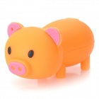 Cartoon Pig-Stil USB 2.0 Flash Drive - Orange (4GB)