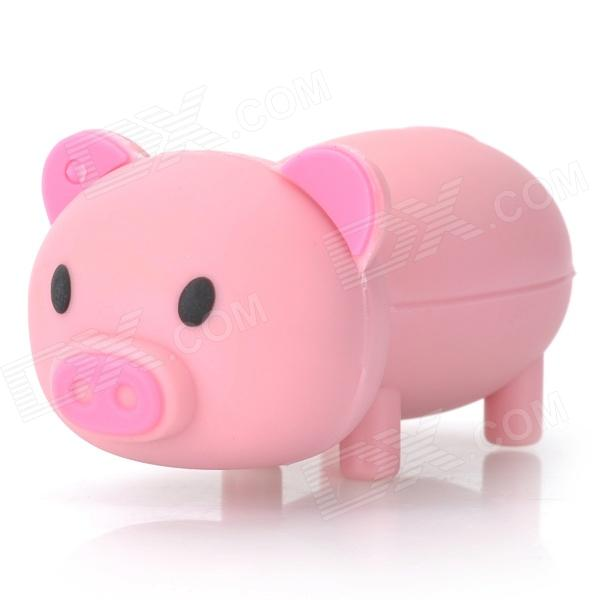 Cartoon Pig Style USB 2.0 Flash Drive - Pink (4GB) лезвия 24811 jt1 62 мм 10 шт уп 3811 лезвия 24811 jt1 62 мм 10 шт уп 3811 10 шт уп