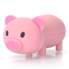 Cartoon Pig Style USB 2.0 Flash Drive - Pink (4GB)