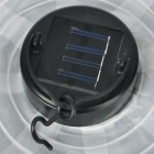 Folding Automatic Solar Powered 1-LED Waterproof Lantern Light - White