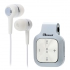 KT808 Universal Bluetooth v2.1 + EDR Headset w/ Microphone - White