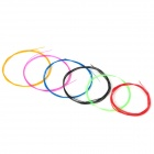 A107 Nylon Core Copper Alloy Wound Strings Set for Classical Guitar - Multi-Colored (6 PCS)